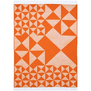 Verpan - Panton plaid Mirror Orange
